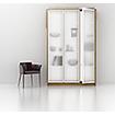 шкаф купе в спальне - Для уюта и комфорта спального помещения  можно использовать шкаф – купе,  в спальне шкаф купе или встроенный шкаф будет как нельзя кстати. Шкаф купе в спальню - это прекрасное решение для тех, кто не имеет возможности обзавестись отдельной гардеробной комнатой. Шкаф купе очень вместительный элемент интерьера и имеет эстетичный внешний вид.  В нашей компании большой выбор шкафов–купе в спальню. Это отличное решение, если вы хотите максимально сэкономить пространство и в то же время поддерживать порядок в спальне. Внешне шкаф купе смотрится, как обычная стена спальни. Лицевая сторона шкафа в спальне будет снабжена зеркалами, то они будут визуально увеличивать пространство в вашей комнате, и соответственно исчезнет необходимость в установке дополнительного зеркала в спальне.